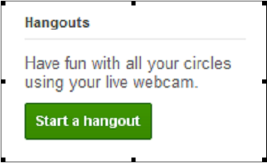 How to Host a Google+ Hangout