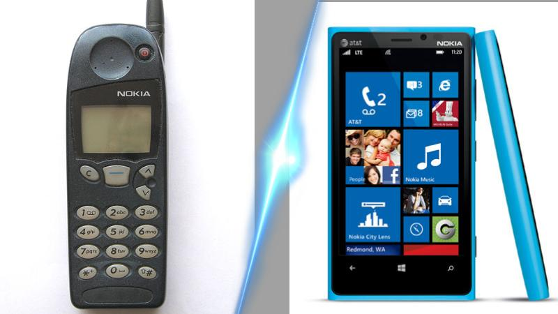 Mashup (4) - Before and Now Nokia