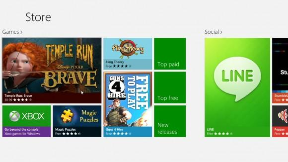 app store- windows 8