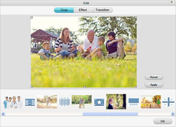 how to run photo slideshow on mac