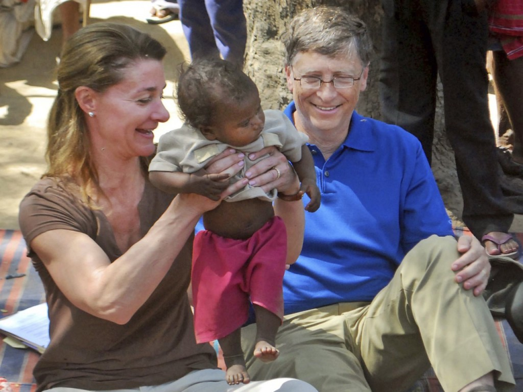 Bill & Melinda Gates (4)